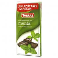 Шоколад черный Torras menta 75г