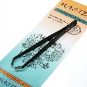 Пинцет для бровей Мастер М 0141 цветной, длина; 9 см., 1 штука