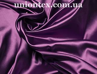 Стрейчевый атлас фиолетовый