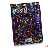 Набор для творчества CRYSTAL MOSAIC, Сова, Danko Toys