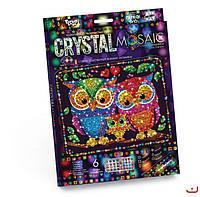 Набор для творчества CRYSTAL MOSAIC, Совы, Danko Toys