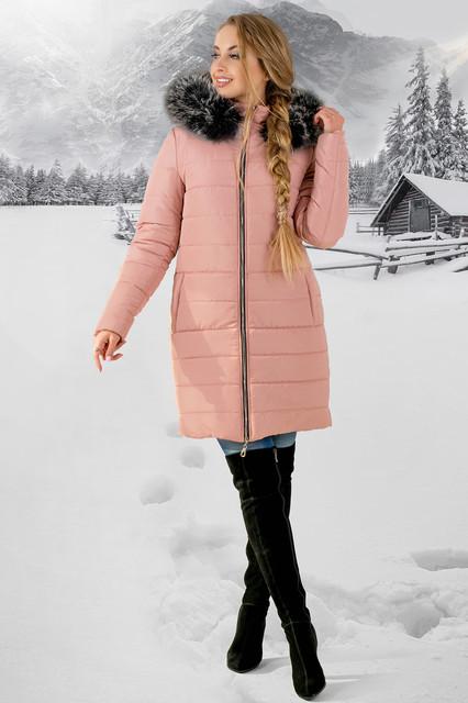 Женские зимние дутые куртки