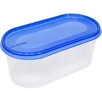 Емкость для пищевых продуктов Plast Team Helsinki овальная 0.8 л N52202303