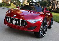 Детский электромобиль Maserati КХ 303-3, Автопокраска, Кожа, EVA Резина, 4 Амортизатора, дитячий електромобіль