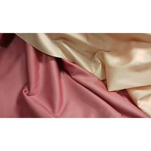 Постельное белье Сатин ТЕА ROSE + SOFT SALMON ТМ Царский дом  (Евро), фото 2