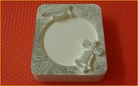 Пластиковая форма для мыла  Форма под картинку - Школьная открытка