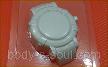 Пластиковая форма для мыла  Часы