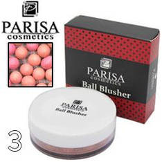 Parisa - Румяна шариковые B-04 Ball Blusher Тон 03 rose peach
