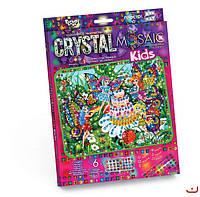 Набор для творчества CRYSTAL MOSAIC KIDS, Феи, Danko Toys
