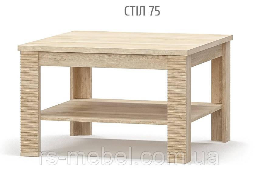 Стол журнальный 75, Греcс (Мебель-Сервис)