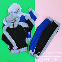 Спортивный костюм  трехнитка для мальчика р 28-32