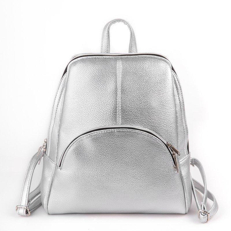 Женский стильный рюкзак стального цвета - Eliza - Интернет магазин одежды в  Харькове 22ed2fd51b0