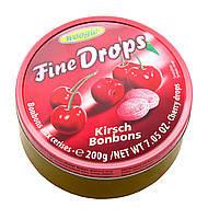 Леденцы Fine Drops Woogie со вкусом вишни, 200 гр
