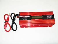 Преобразователь тока UKC 20000W KC-2000D. Инвертор AC/DC с LCD дисплеем. Высокое качество. Код: КДН2400