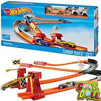 Набор Хот Вилс из двух треков  Турбо гонки Hot Wheels Turbo Race Track Set