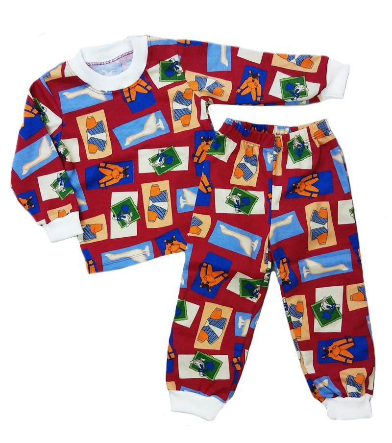 dbcc24d006993 Теплая детская пижама с начесом для мальчика и девочки - Интернет-магазин