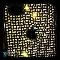 "Чехол со стразами ""GOLD"" на iPhone 4/5 (Под заказ на любой телефон)"
