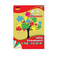 Набор цветной бумаги и цветного картона 17 листов N51522452