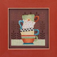 """Набор для вышивания """"Coffee Cups"""" - """"Кофейные чашки"""" Mill Hill"""