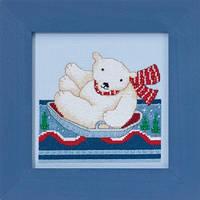 "Набор для вышивания ""Polar Slide"" - ""Полярное катание"" Mill Hill"