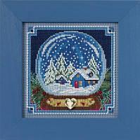 "Набор для вышивания ""Snow Globe"" - ""Снежный шар"" Mill Hill"