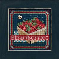 "Набор для вышивания ""Strawberries"" - ""Клубника"" Mill Hill"
