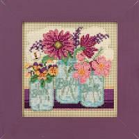 "Набор для вышивания ""Cut Flowers"" - ""Срезанные цветы"" Mill Hill"