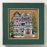 """Набор для вышивания """"Queen Anne House"""" - """"Дом Королевы Анны"""" Mill Hill"""