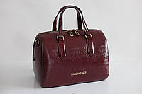 Женская сумка Valentino by Mario Valentino bordeaux