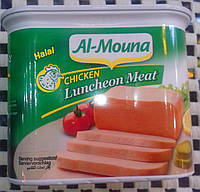 Куриное мясо в банке. Халяль. Мясная нарезка. Luncheon meat Halal 340 г