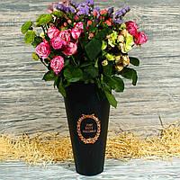 Подарочная коробка-конус для цветов БОЛЬШОЙ 1823854-5