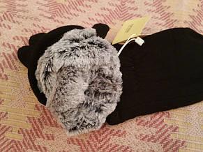 Мужские перчатки тёплые трикотаж кролик, фото 2