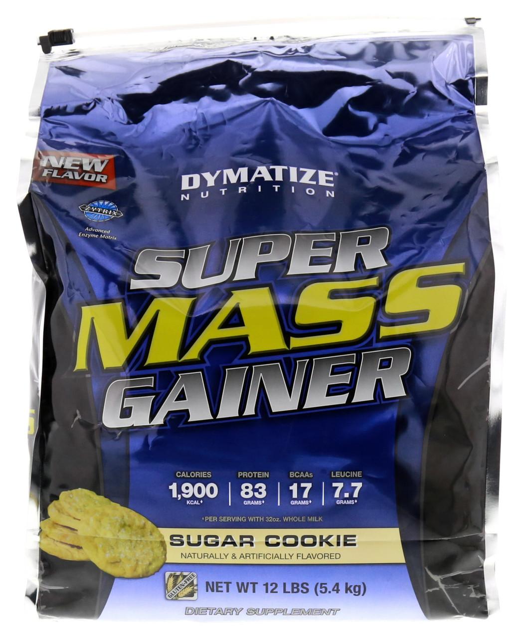 Dymatize Super Mass Gainer 5,4 kg Диматайз Супер Масс Гейнер 5,4 кг