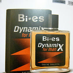 Туалетная вода для мужчин DYNAMIX FOR MAN (Bi-es) 100мл
