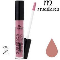 Malva Губная помада жидкая PM-2002 Superior Performance Liquid Lipstick ТОН 02 natural матовая
