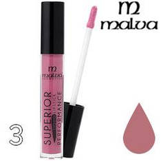 Malva Губная помада жидкая PM-2002 Superior Performance Liquid Lipstick ТОН 03 pink natural матовая