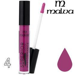 Malva Губная помада жидкая PM-2002 Superior Performance Liquid Lipstick ТОН 04 cherry lilac матовая