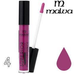 Malva Губная помада жидкая PM-2002 Superior Performance Liquid Lipstick ТОН 04 cherry lilac матовая, фото 2