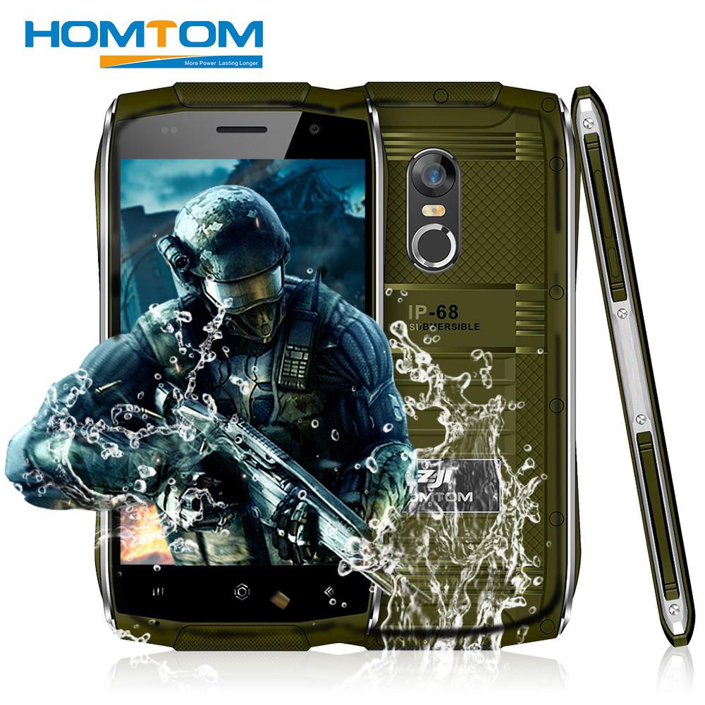 Защищенный смартфон HomTom ZOJI Z6 IP68 Green 1 8Gb 3000 мАч MT6580 c47620b0c4ef3