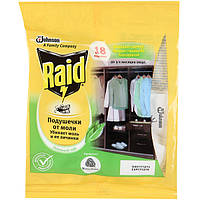 Средство Raid против моли Зеленый Чай подушечки N50710372