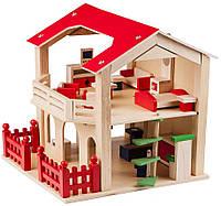 Кукольный домик с мебелью, 83550, Bino
