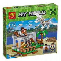 Конструктор Minecraft 33025 Белый дракон