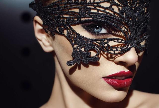Мереживні (ажурні) маски