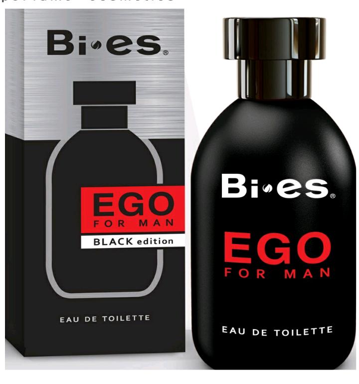 Туалетная вода для мужчин EGO BLACK EDITION (Bi-es) 100мл