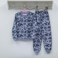 Пижама детская для девочки ТМ Фламинго, футер (артикул 329-310)