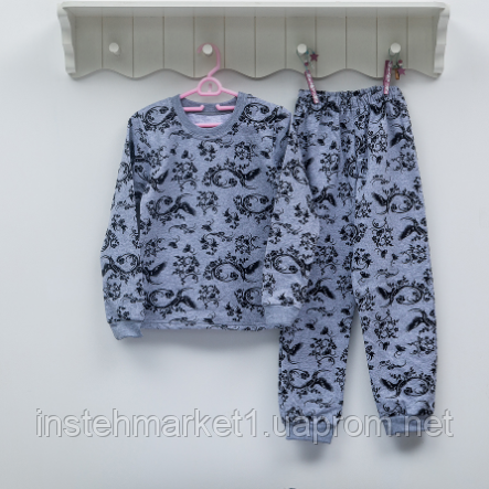 Пижама детская для девочки ТМ Фламинго e2d4d35e59482