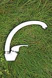 Смеситель для кухни Germece 7012 TW белый латунь, фото 2