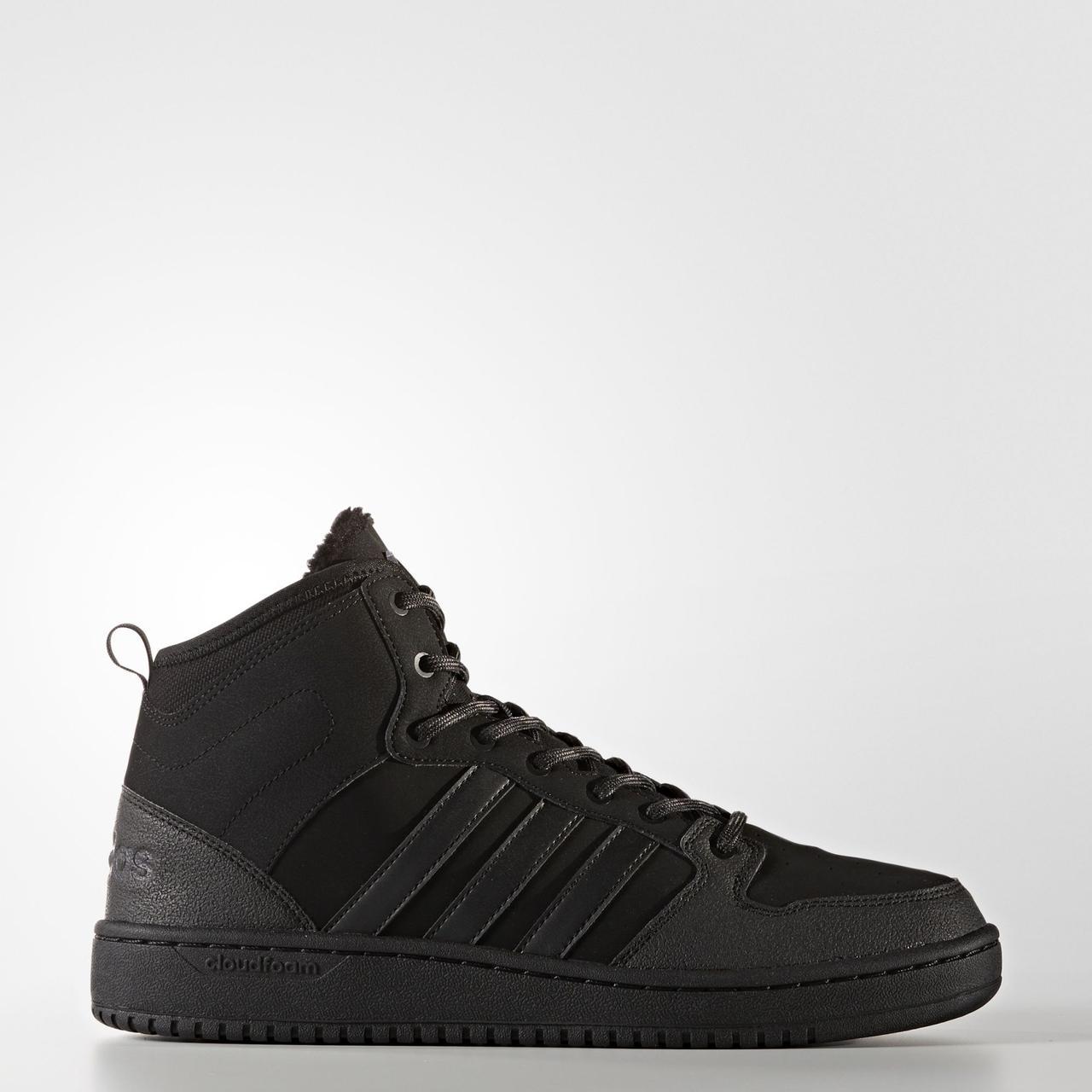 Мужские кроссовки Adidas Neo Cloudfoam Hoops Winter Mid (Артикул  BB9912) 93455f3cc0a