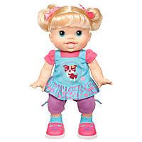 Большая кукла Baby Alive Wanna Walk от Hasbro. Ходит и говорит., фото 1