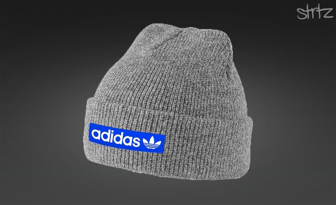 Стильная шапка адидас, шапка Adidas